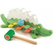 Jucarie bebelus Crocodilul jucaus Djeco
