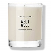 Baxter of California White Wood Candle