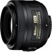 Nikon »AF-S DX NIKKOR 35 mm 1:1,8G« Objektiv, (INKL. HB-46 und CL-0913)
