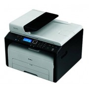 Ricoh SP 220SNw 1200 x 600DPI Laser A4 23ppm Wi-Fi Black,Grey multifunctional - multifunctionals (Laser, Mono printing, Mono copying, Colour scanning, Black, White, 23 ppm)