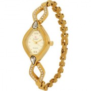 Evelyn Stainless Steel Gold Plated Wrist Watch for Women - EVE-325