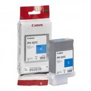 CANON PFI-107C CIANO ORIGINALE PER CANON IPF 670 IPF 680 IPF 685 IPF 770 IPF 780 IPF 785 PFI107 6706B001 130ml