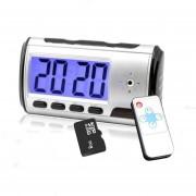 Reloj Despertador Camara Espia Memoria 8gb
