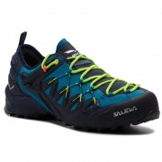 Туристически SALEWA - Wildfire Edge 61346-3988 Premium Navy/Fluo Yellow