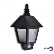 vidaXL Solarna zidna svjetiljka sa senzorom pokreta