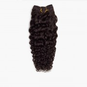 Rapunzel® Extensions Naturali Hair Weft Curly Curls 2.3 Chocolate Brown 35 cm
