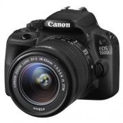 Canon Cámara réflex Canon EOS 100D + objetivo Canon EF-S 18-55 mm f/3.5-5.6 IS STM Negro