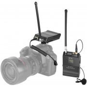 Boya By-wfm12 VHF Sistema Micrófono Inalámbrico Transmisor Y Receptor