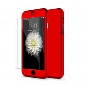 Husa Iphone 5/5S/5SE Full Cover 360 - Rosu