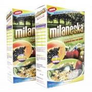 Granola Milaneska 7 Ingredientes - Mel e Nozes - Milaneska Saúde