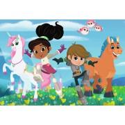 Puzzle Ravensburger - Nella The Princess Knight, 2x24 piese (07831)