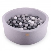 Meow Baby Light Grey Ball Pit 30 cm