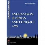 Anglo-Saxon Business and Contract Law