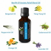 MNT ANXIETY RELIEF AMAZING BLEND ESSENTIAL Oil (15 Ml) Pure Therapeutic Grade