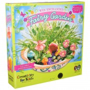 Set creatie copii FABER-CASTELL Grow gradina zanelor, FC001114