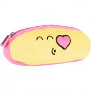 Smiley World Blowing Kiss Expression Smiley Soft Pencil Pouch Yellow by Ultra