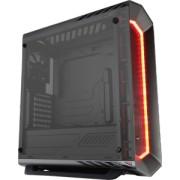 Carcasa Aerocool ATX P7 C1 BLACK TEMPERED GLASS, USB 3.0, fara sursa