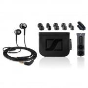 Sennheiser CX 400-II Precision - слушалки с управление на звука за iPhone, iPod, iPad и мобилни устройства (черен)