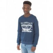Levi`s Levi's Sweatshirts Marinblå