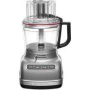 KitchenAid 11-Cup Food Processor with ExactSlice System Contour Silver (KFP1133CU) 500 W Food Processor(Contour Silver)