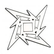 Metallica kitűző - Ninja Star - RTMTLBADGNIN