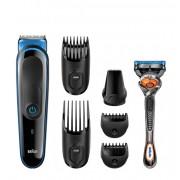 Braun тример за лице и коса MGK 3045 + подарък Gillette