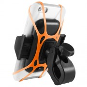 Macally Bike Holder - универсална поставка за колело за iPhone и мобилни телефони (черна)