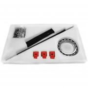 Kit De Placa De Escáner 3D De Escritorio De Bricolaje Con Objeto Adaptador Para Impresora Ciclop - Rojo