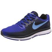 Nike Men's Air Zoom Pegasus 34 Blue Running Shoes - 10 UK/India (45 EU)(11 US)(880555-006)