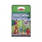 Carnet de colorat Apa Magica Animale, Melissa and Doug, 4 pagini