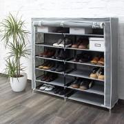 Pantofar panza pentru 36 perechi pantofi-gri