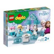Lego Конструктор Lego Duplo Disney Чаепитие у Эльзы и Олафа 17 дет. 10920