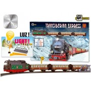Set constructie - Trenulet electric calatori, Expresul Transiberian