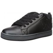 DC Men s Court Graffik SE Skate Shoe Black 3 8 D(M) US