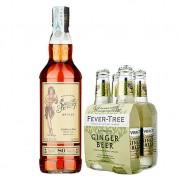 """Jerry Loves Ginger: Rum """"sailor Jerry"""" Sailor Jerry 0.7l E Soft Drink """"ginger Beer"""""""
