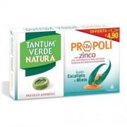 Angelini spa Tantum Verde Natura Propoli Zinco Gusto Eucalipto E Miele 15 Pastiglie Gommose