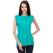 Klick Designer Neck Chain Top Turquoise