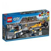 Lego City Dragster-Transporter