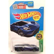 2016 Hot Wheels Super Treasure Hunt Hw Exotics 3/10 - '17 Ford GT