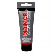 Culoare Maimeri acrilico 75 ml red transparent 0916266