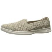 Skechers Performance Go Step Lite-Petal 14723 Zapatillas para Caminar para Mujer, Marrón Topo, 6 US