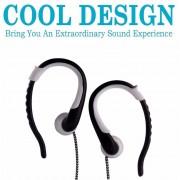 Audífonos Bluetooth Deportivos Inalámbricos, ST-001 ST 001 Auriculares Inalámbricos Para Auriculares Inalámbricos Con Cancelación De Ruido (Blanco)