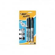 Marking Multi Tip Permanent Marker, Assorted Color, Fine/ultra-Fine/chisel, 3/pk