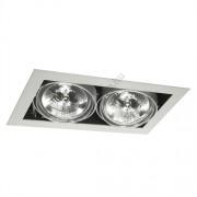Lámpatest álmennyezeti AR111 12V 2x50W MATEO szürke Kanlux - 4961