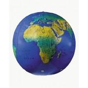 Replogle Globes Inflatable Topographical Globe Dark Blue Ocean 27-Inch Diameter