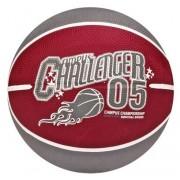 New Port Mini Basketbal Met Print Paars/Grijs Maat 3