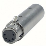 Showtec - DMX Adapter 3-pol male / 5-pol female