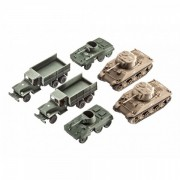 Us army wwii m4 si m8 si cckw truck revell rv3350