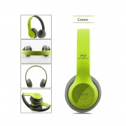 Casti wireless MRG L-P47 Verde cu Bluetooth , Handsfree