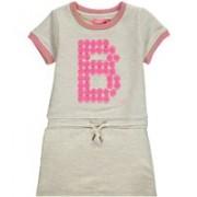 LE BIG Jessica A-lijn jurk met logo applicatie
